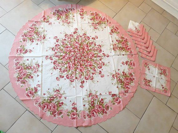 Pin By Amanda Smyth Toma On Italian Pickers Floral Tablecloth