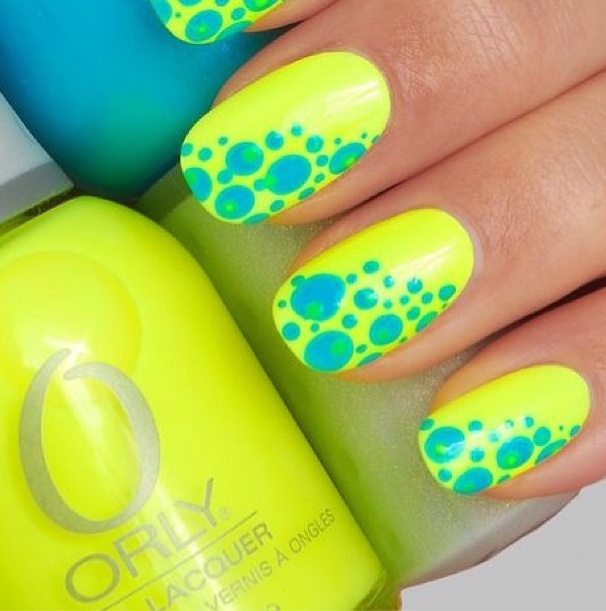 101 best Glow nails images on Pinterest | Brillo de uñas, Esmalte de ...