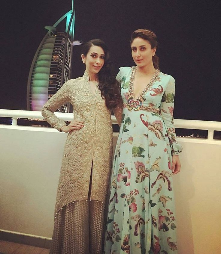 The Kapoor sisters in Dubai wearing the most gorgeous gowns