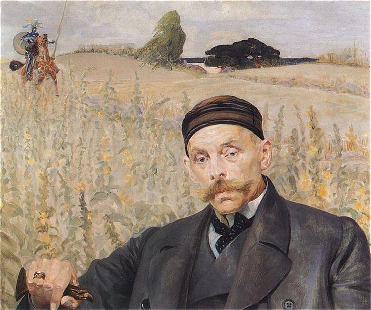 Jacek Malczewski - Portrait of Wenceslas Karczewski (1906)