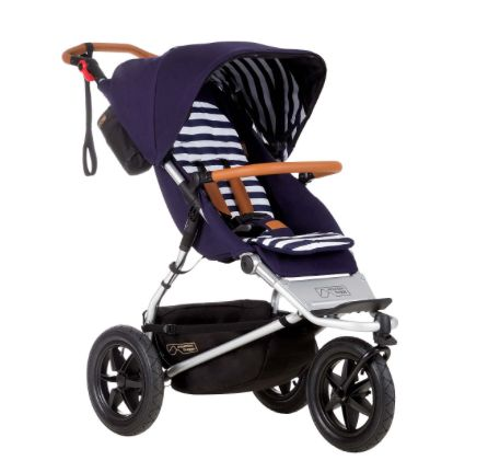 Mountain Buggy Cosmopolitan Kinderwagen Nautical, Set Wanne+ Wagen - KIND DER STADT - Kinderwagen, Kindermöbel & Besonderes für den Start ins Leben