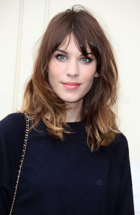 I nominate Alexa Chung for 'Cutest Girl Out There With Stringy, Unstyled Hair'.  How DOES she get away with it?  Doesn't really matter, the point is she can, does, and still looks gorgeous.