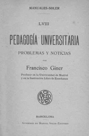 Giner de los Ríos, Francisco