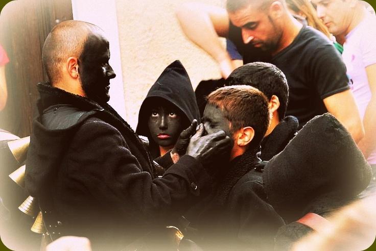 Urthos and Buttudos: Carnival Masks of Fonni in Sardinia. #travel #carnival #mask #sardinia