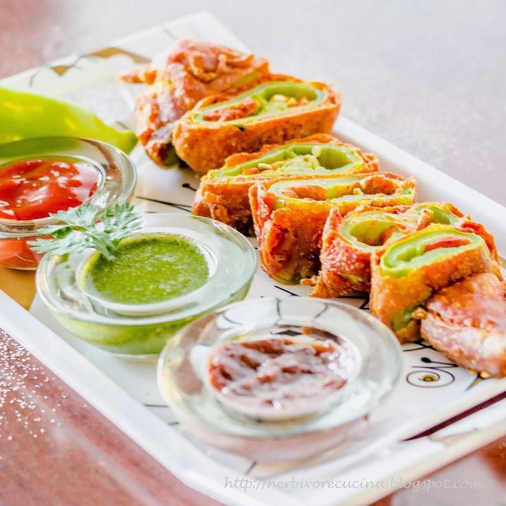 Bhavnagri Mirch Pakoda: Chilli Fritters