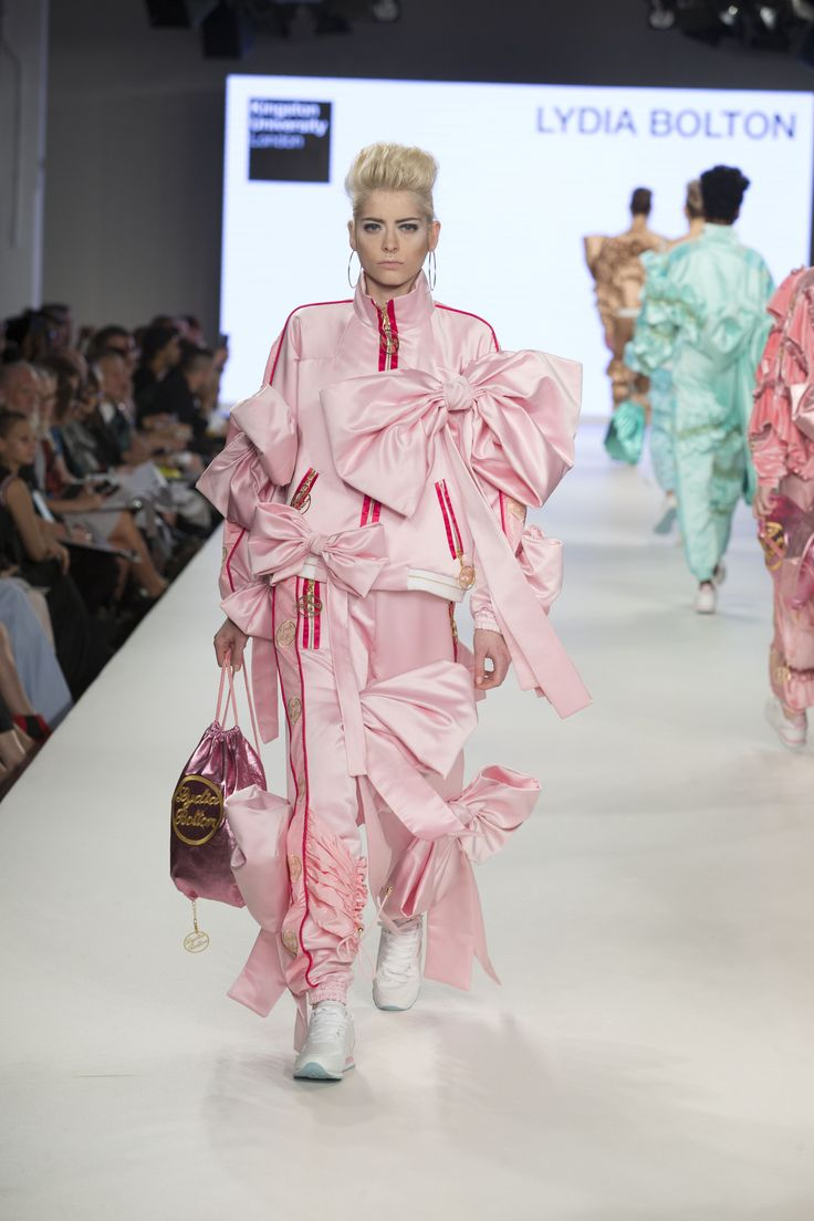 Kingston University student Lydia Bolton's collection on the catwalk at Graduate Fashion Week 2016. Find out more about studying fashion at Kingston University : http://www.kingston.ac.uk/undergraduate-course/fashion/?utm_source=Pinterest&utm_medium=Social&utm_campaign=KUPinterest&utm_content=FashioncourseGFW2016