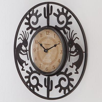 FirsTime Kokopelli Wall Clock