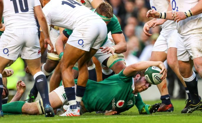 March 19 2017 - Ireland  shatter England's Six Nations Grand Slam hopes as Iain Henderson scores only try in 13-9 win in Dublin
