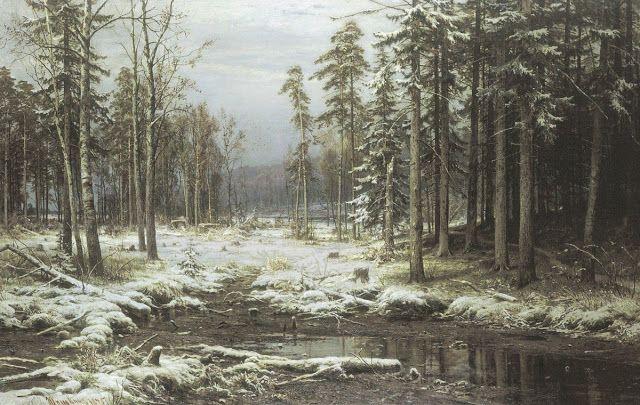 Το πρώτο χιόνι.(1875)