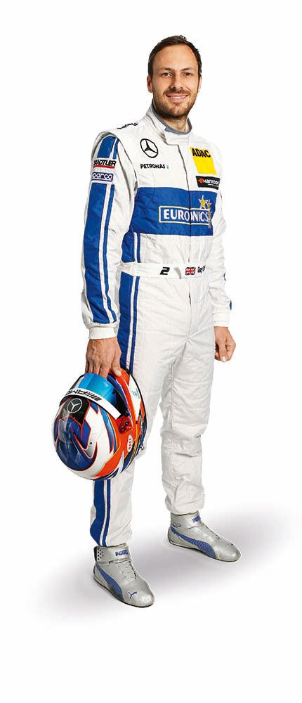 Gary Paffett fährt 2016 für Mercedes-AMG DTM Team ART in der DTM