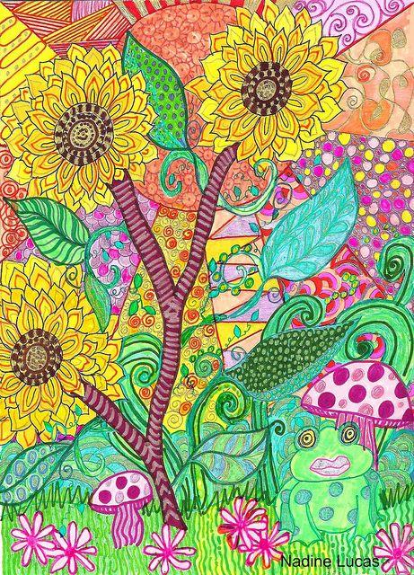 Sunflower Inspired | Flickr - Photo Sharing!