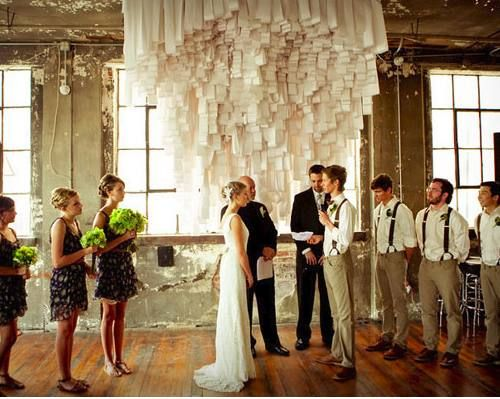 Vintage Wedding Backdrops: Design Inspiration, Vintage Weddings, Ceremony Backdrops, Receipt Paper, Diy'S Weddings, Toilets Paper, Special Events, Weddings Backdrops, Photo Backdrops