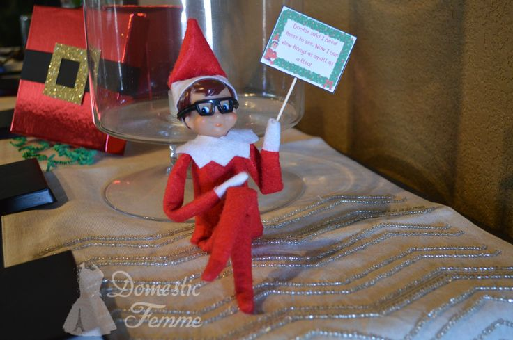 Elf Got Glasses - FREE Elf On The Shelf Calendars, Printables and over 100 Ideas! #Arrival #Christmas #Clothes #Costume #Day #Easy #Elves #Eve #Fast #Food #First #Funny #Girl #Good #Goodbye #Hiding #Hilarious #Holiday #Jesus #Jokes #Kid #Kindness #Lazy #Magic #Minutes #Mischief #Moms #Movie #Moving #Night #Old #Pajamas #Pet #Photos #Pictures #Planner #PJs #Pranks #Quick #Reindeer #Return #Returning #Toddlers #Tradition #Tricks #Video #Xmas #Year #Young