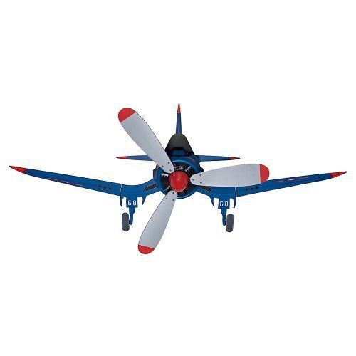 Kids Airplane Ceiling Fan For Bedroom Nursery Childs Playroom Blue Fighter  Plane
