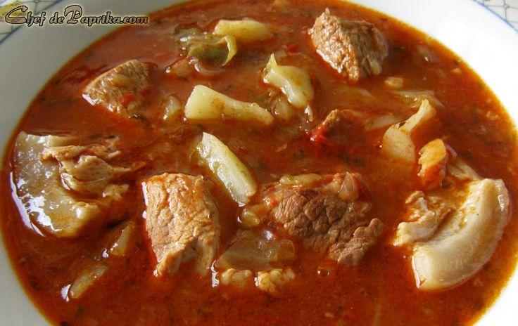 Lucskos Kaposzta Hungarian Cabbage Soup
