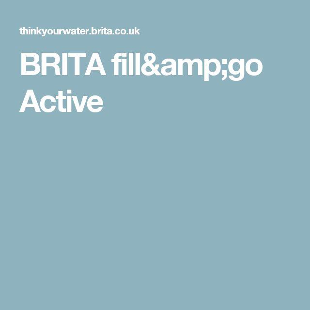 BRITAfill&go Active
