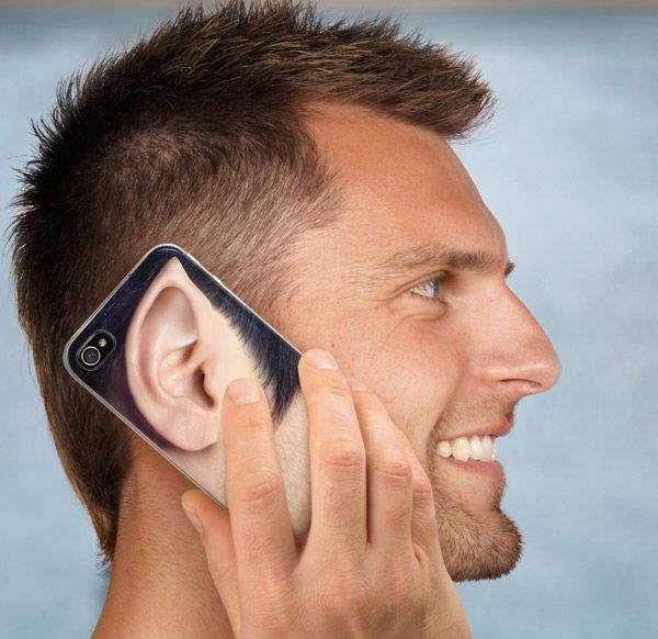 If you're tired of boring smart phone cases, try out this funny and clever All Ears men's iPhone 4 and 4s case! This novelty clear plastic case includes 6 hilarious and different photograph quality full color inserts that will allow you to change the look of your iPhone every day. http://www.zocko.com/z/JE9bO