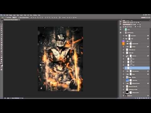Fury Photoshop Action - YouTube