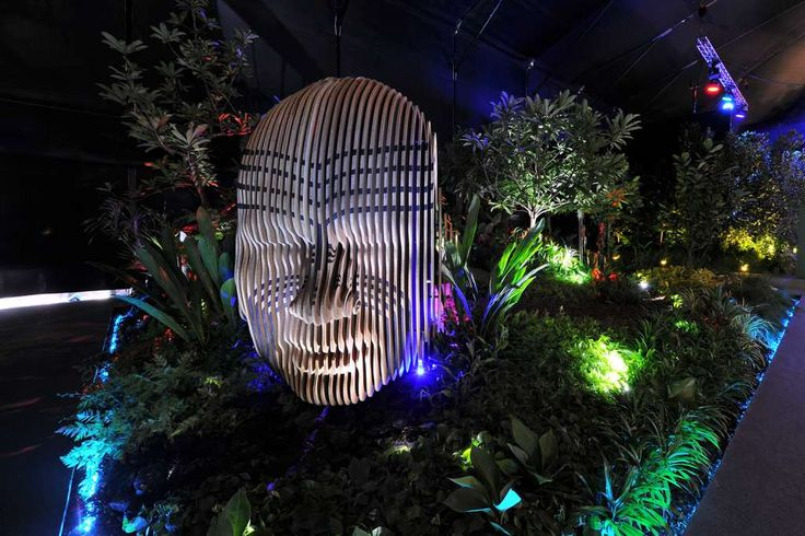 Singapore Garden Festival 2016 'Modern Day Maui' Adam Shuter, New Zealand.