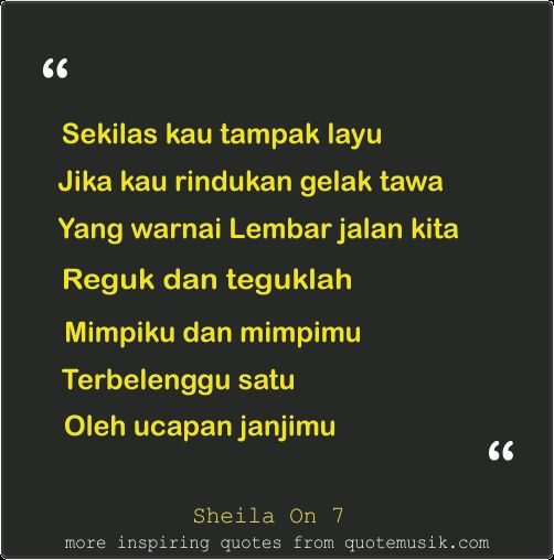 Quotes about live sheila on 7