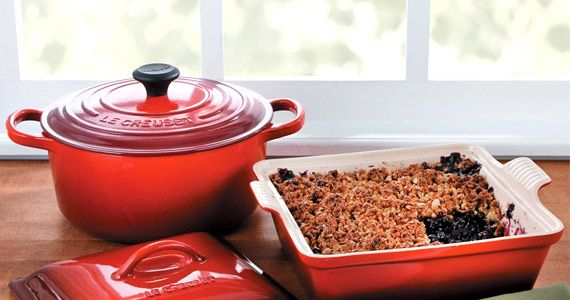 Win a Le Creuset Covered Casserole