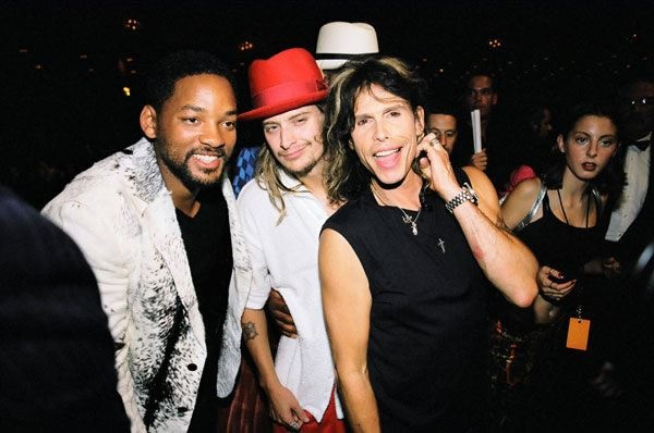 Steven with Will Smith and Kid Rock