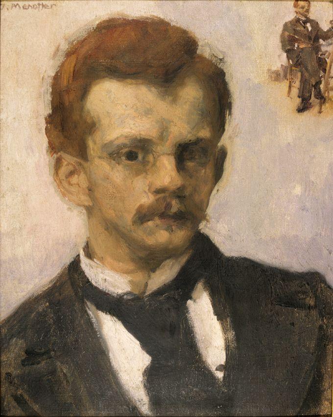 Józef Mehoffer -Autoportret