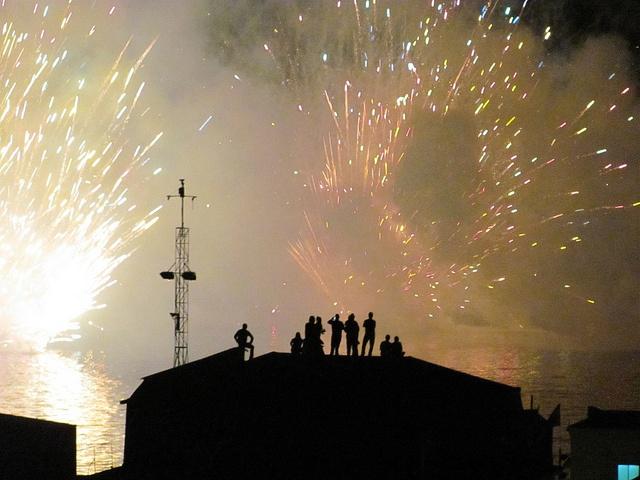 Año nuevo en Valparaiso - Chile