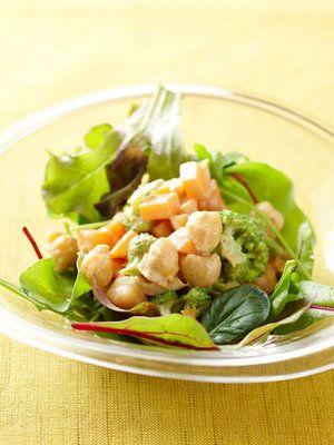 【ELLE a table】ひよこ豆のカレー風味サラダレシピ|エル・オンライン