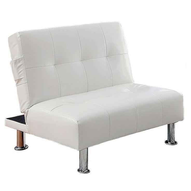 ve ian worldwide transitorio futon chair white the 25  best futon chair ideas on pinterest   small futon sofa