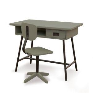 Bureau la classe vert de gris van Laurette