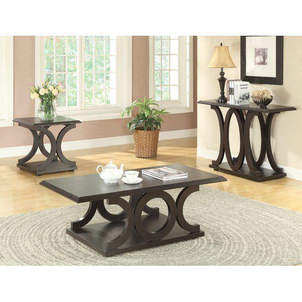 Adaline Configurable Table Set Coffee Table Coffee Table Setting C Shaped Coffee Table
