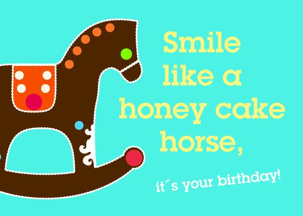 smile like a honey cake horse : Denglish : Pinterest ...