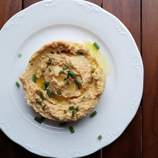 Hummus de coliflor