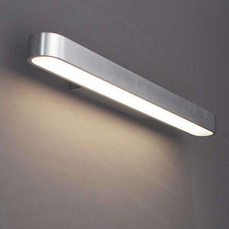 Wandlamp Linea 60 aluminium