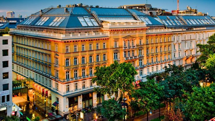 Grand Hotel Wien is the hub of Viennese high society