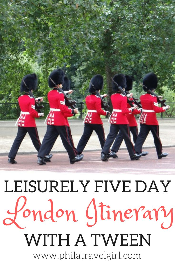 A Leisurely Five Day London Itinerary for Traveling with a Tween. I have visited London many times over the years and love the city so when my 11 year old niece asked if we could visit London as part of our Europe trip, I didn't hesitate to say yes. If you are planning a first time visit for a tween to London, click through to read my leisurely schedule for five days in London with a tween. | PhilaTravelGirl #london #tweentravel #londonitinerary
