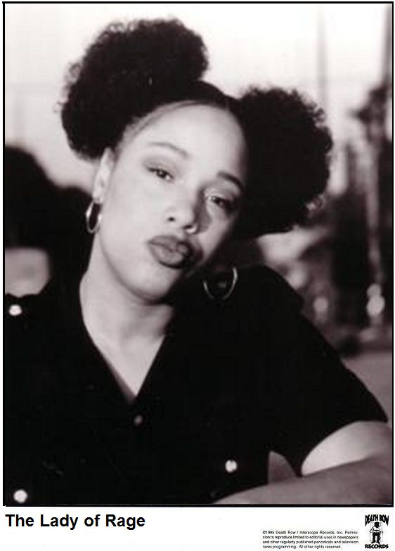 """The Lady of Rage Robin Yvette Allen (born June 11, 1974), better known by her stage name The Lady of Rage, is an American rapper, singer and actress best known for collaborations with several Death Row Records artists, including Dr. Dre and Snoop Doggy Dogg on the seminal albums The Chronic and Doggystyle.She has been described as """"one of the most skillful female MCs"""" with a """"mastery of flow"""" and """"hard-core lyrics"""""""
