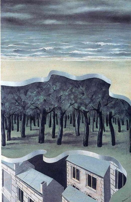 Popular panorama 1926 Rene Magritte