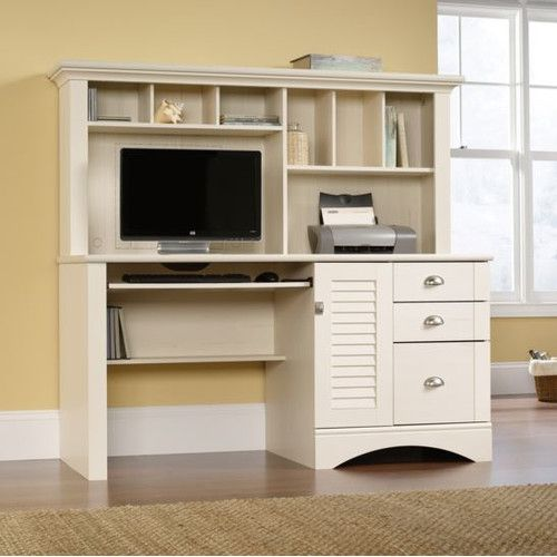 Found it at Wayfair - Harbor View Computer Desk with Hutch