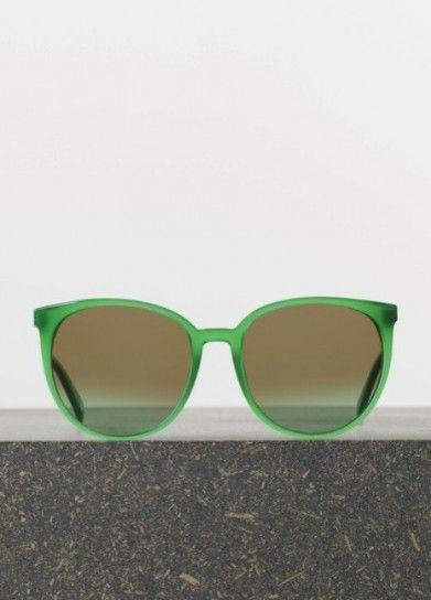 Sunglasses verdi di Celine
