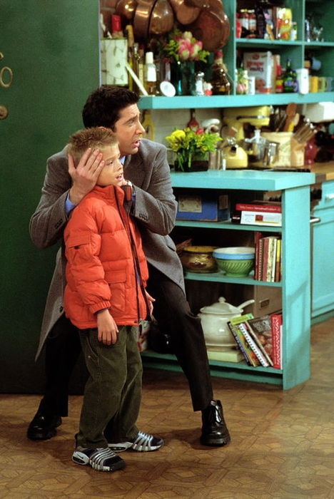 ben = cody from the suite life <3....it's true, look it up!! Cole Sprouse was on Friends as Ross's son Ben!!