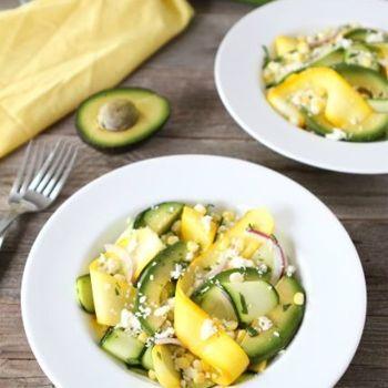 ... Salad | Pinterest | Sweet Corn, Zucchini Ribbon Salad and Zucchini
