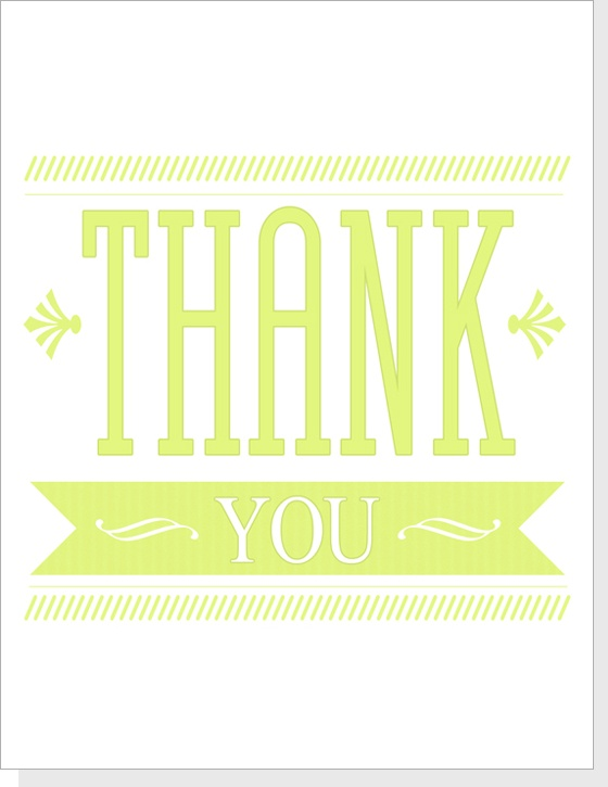 47 best Free Printable Thank You Cards images on Pinterest Paper - printable thank you note