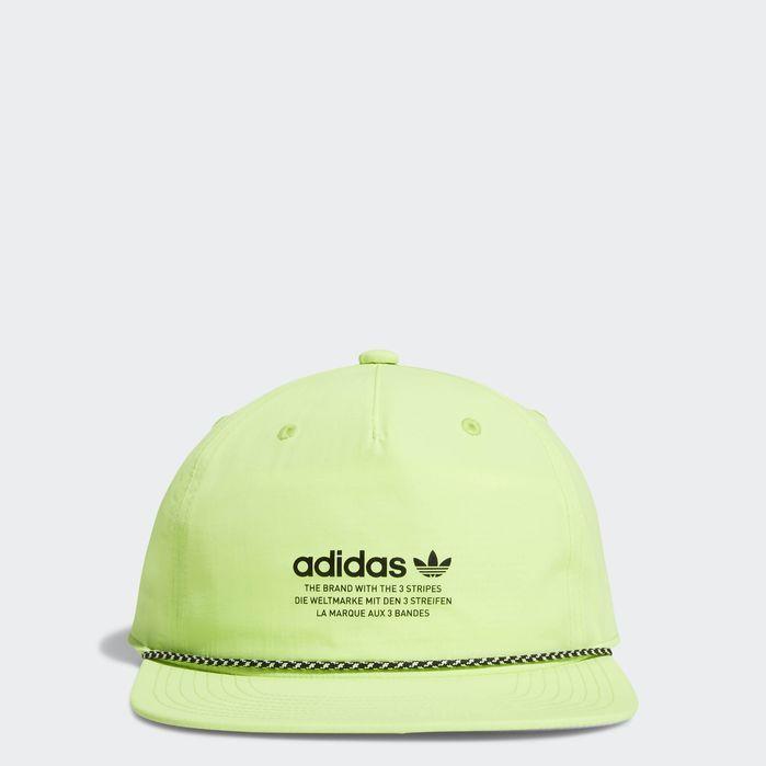 M Ori Rlxd Decon Rope Strpbk Bright Yellow Mens Hats For Men Yellow Adidas Mens Hats Baseball