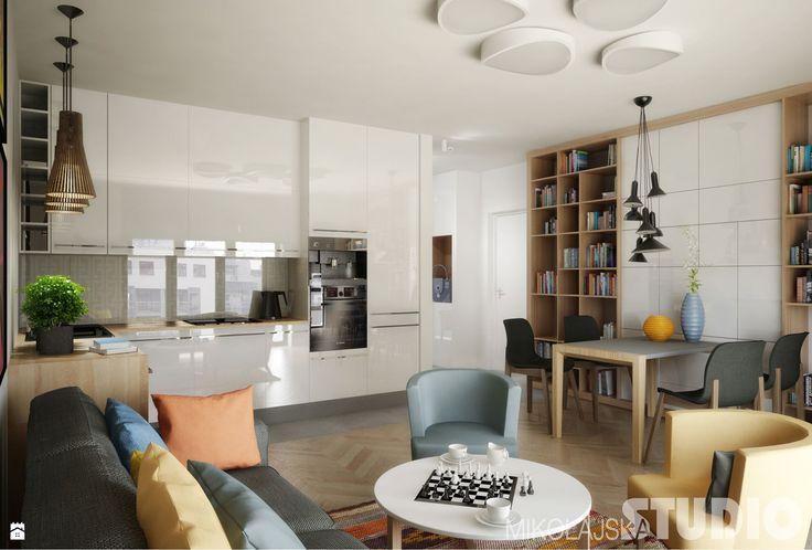 Kuchnia w stylu skandynawskim - zdjęcie od MIKOŁAJSKAstudio - Kuchnia - Styl…