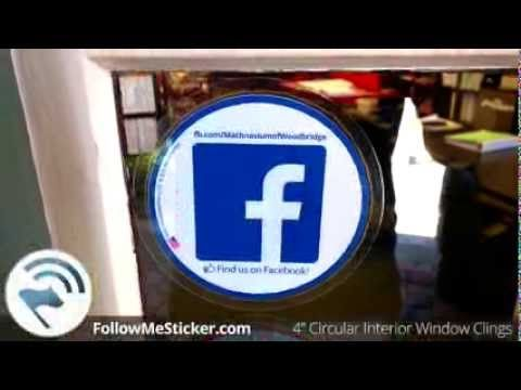 Best Social Media Decals Images On Pinterest Social Media - Window decals for business atlanta