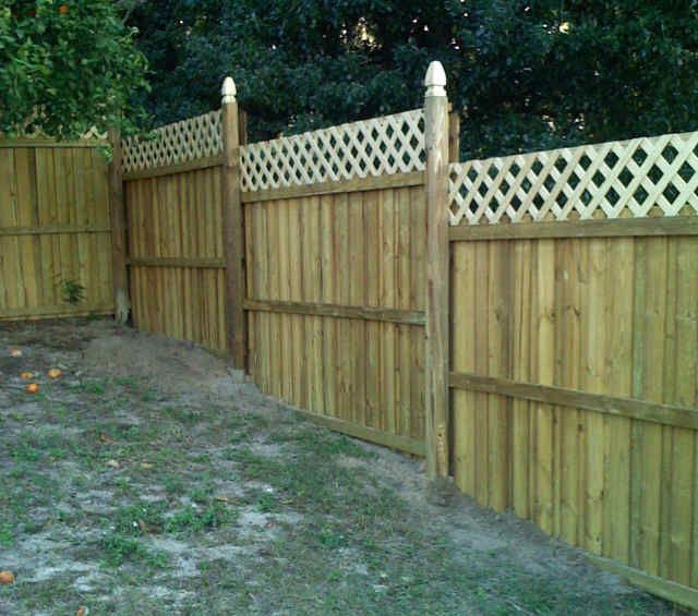 23 Best Images About Fence With Lattice On Pinterest