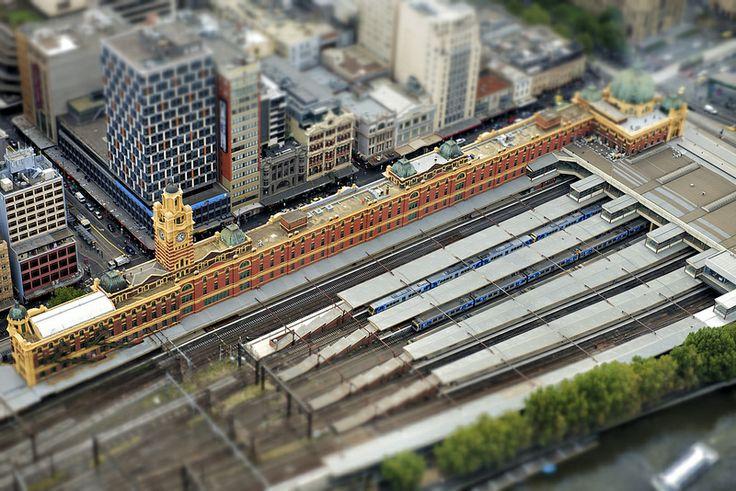 Melbourne Flinder Street Station
