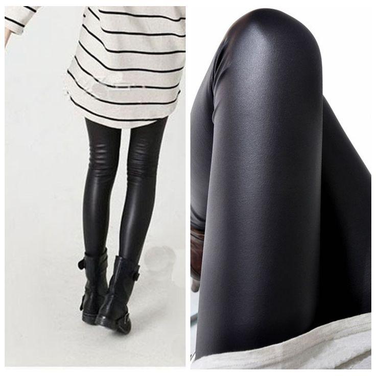 Cheap Le donne nere ghette del cuoio del faux di alta qualità slim leggings più il formato ad alta elasticità pantaloni sexy leggins plus size, Compro Qualità Pantaloni & Capris direttamente da fornitori della Cina:       /                                        &